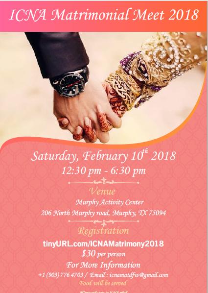 icna matrimonial services